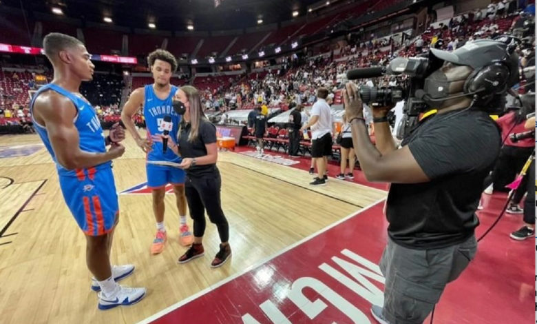 Photo of ESPN's Cassidy Hubbarth Pursues The NBA's Neverending Stories In Las Vegas Summer League