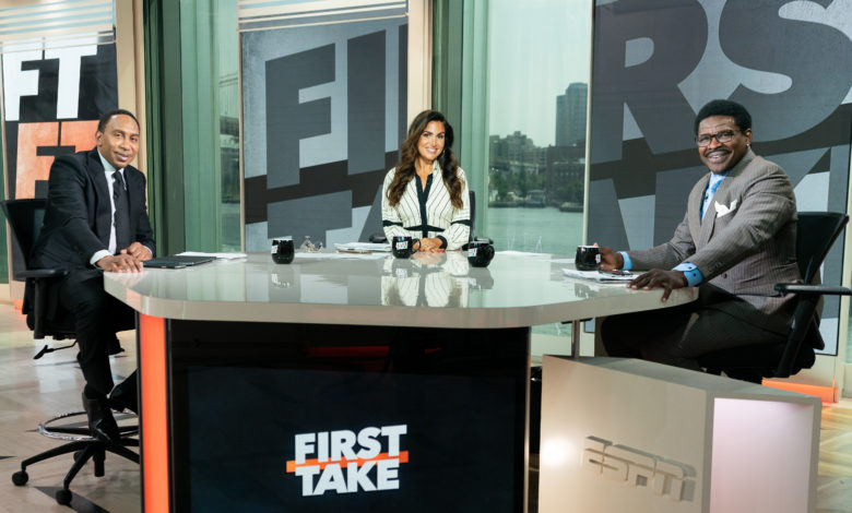 Photo of Michael Irvin,TimTebow,HBCU Wednesdays & More– AnInsideLook atFirst Take'sNew Format